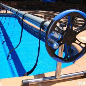 Μηχανισμός για τύλιγμα ισοθερμικών καλυμμάτων Bubble Covers